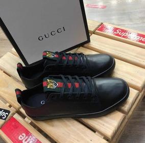 Sapatenis Gucci Couro Promocao Relampago