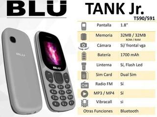 Telefono Liberado Doble Sim Blu Tank Jr T590/591
