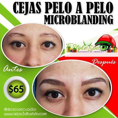 Cejas Pelo Pelo Micropigmentacion $65 Microblading 3d 6d 9d