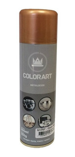 Tinta Ouro Rose Spray Gold Metalica Chapa Moto Carro Roda
