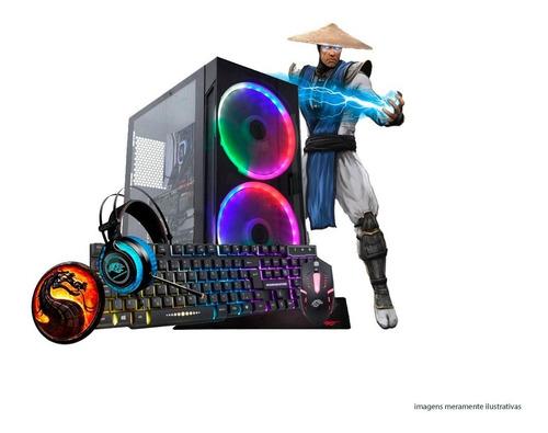Pc Gamer Core I5 Turbo 3,4ghz 8gb Hd1tb Gt710 2gb Kit Gamer