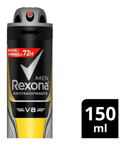 Desodorante Rexona Men Aerossol Antitranspirante V8 150ml