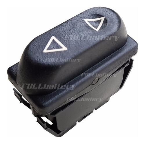Imagen 1 de 2 de Tecla Levanta Vidrios Simple De 5 Terminales Peugeot 306