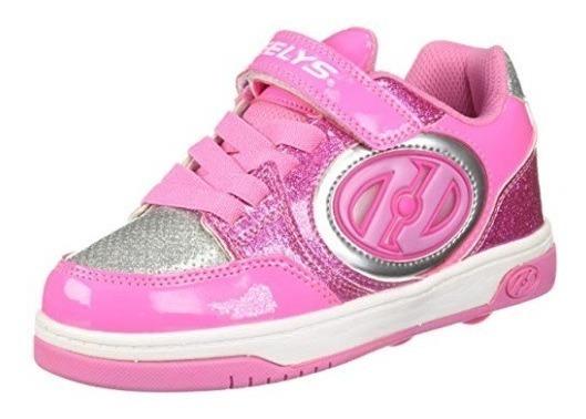 Zapatos Con 2 Ruedas Heelys, Con Luces X2 Lighted T33