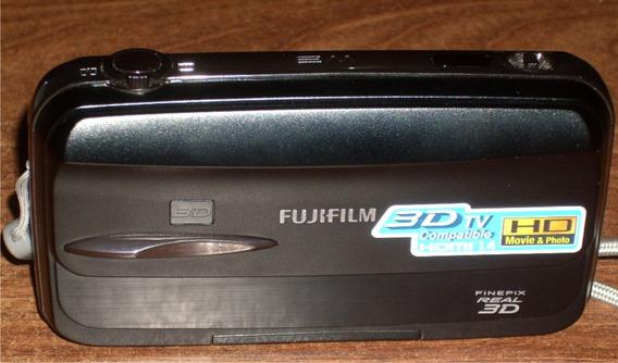 Camara Fotos Y Filmadora 3d!! Fujifilm Finepix Real 3d W3
