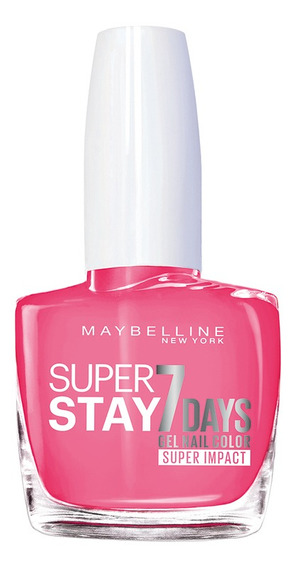 Esmalte Barniz Uñas Super Stay 7d Maquillaje Maybelline