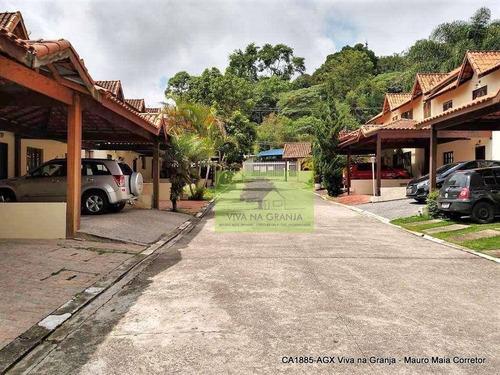 Casa À Venda, 52 M² Por R$ 320.000,00 - Granja Viana - Cotia/sp - Ca1885