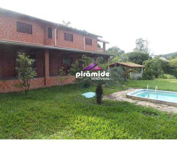 Chácara À Venda, 4000 M² Por R$ 670.000,00 - Capuava - São José Dos Campos/sp - Ch0089