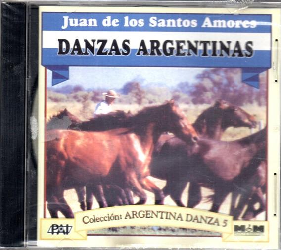 Juan De Los Santos Amores Danzas Argentinas Volumen 5