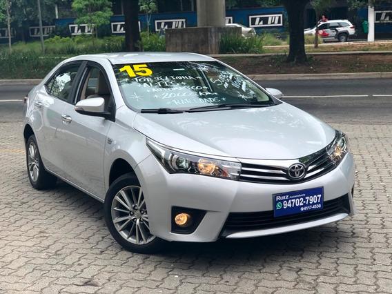 Toyota Corolla Altis Flex Baixa Km 8mil Entrada +1599mensais