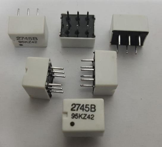 2745b Sensor High Frequency Magnetics T1/e1, Dip6, C/ 6 Pçs