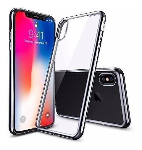 Case Protector iPhone 10 X Delgado Silicon Tpu !