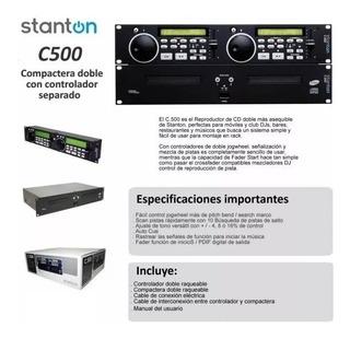 Vendo Compactera Stanton C500 Igual A Nueva..