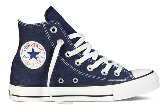 Converse Bota Unisex Chuck Taylor All Star Hi Azul - Negro