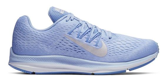 Zapatillas Nike Air Zoom Winflo 5 Mujer Running Aa7414-404