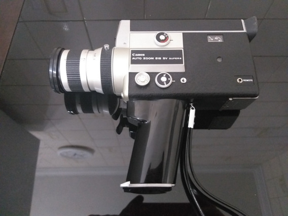 Filmadora Canon 518 Sv Super Oito Impecável