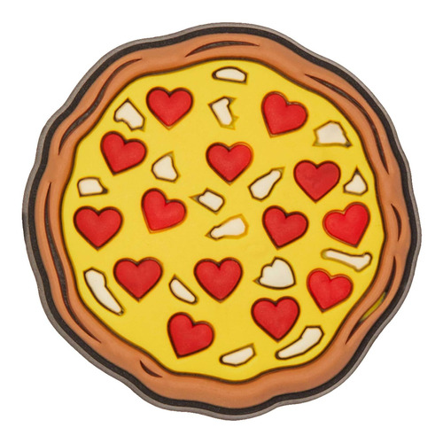 Crocs Jibbitz Love Pizza Hombre Mujer Niños