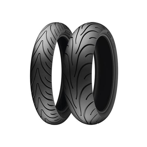 Llanta Michelin 190/50-17 Pilot Road 2 Radial 73w 2 T/l