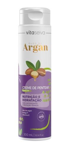 Imagem 1 de 1 de Creme Pentear Oleo De Argan Lançamento Leaven-in 300ml Vs