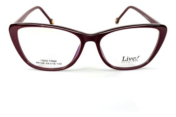 Óculos De Grau San Andrés Vinho