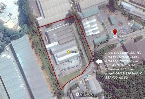 Imagem 1 de 10 de Galpão Comercial À Venda, Jardim Belval, Barueri. - Ga0009
