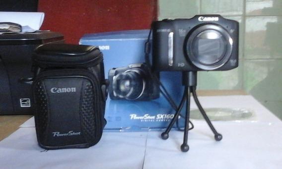 Câmera Digital Canon Powershot Sx 160 Is
