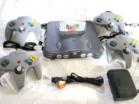 Nintendo 64 N64 + 4 Controles + Cruis Usa + Fonte Original