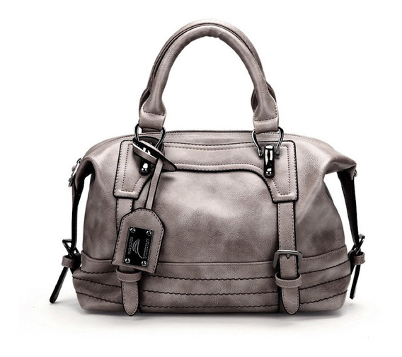 Bolsa Feminina Tiracolo Media Couro Transversal Fashion Luxo