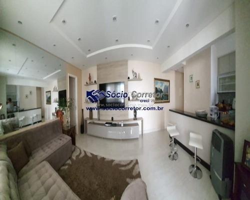 Imagem 1 de 15 de Apto 116m² - Port. Fechad - 3 Suítes, 2 Vgs - Cond.carpediem - Apartamento A Venda No Bairro Jardim Santa Mena - Guarulhos, Sp - Sc01134