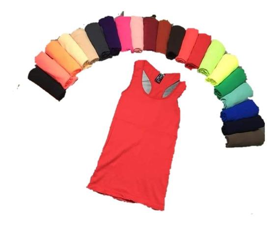 Playera Blusa Olimpica Colores 12 Pzs