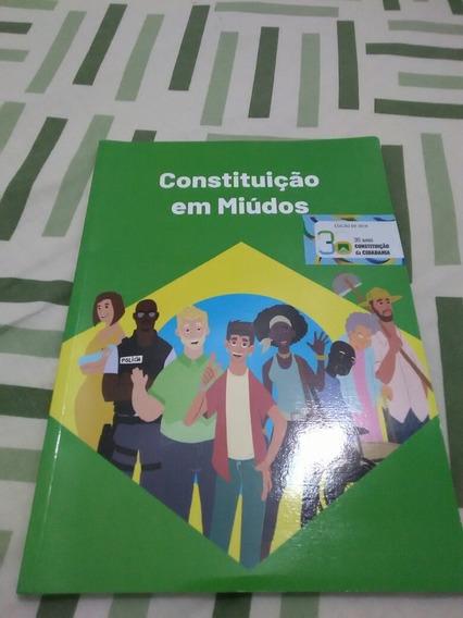 Constituição Federal Para Adolescente Miúdos - 2ª Edição