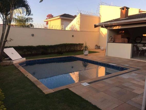 Casa Residencial À Venda, Condomínio Maison Blanche, Valinhos. - Ca2250