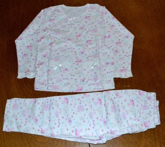 Pijamas 2019 Junior Algodón Pima 4 Modelos Little Treasure