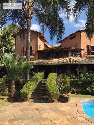 Casa De Campo Alto Padrão, Terreno 1.500m², Vende E Aluga, Em Condomínio Na Granja Viana - Codigo: So0549 - So0549