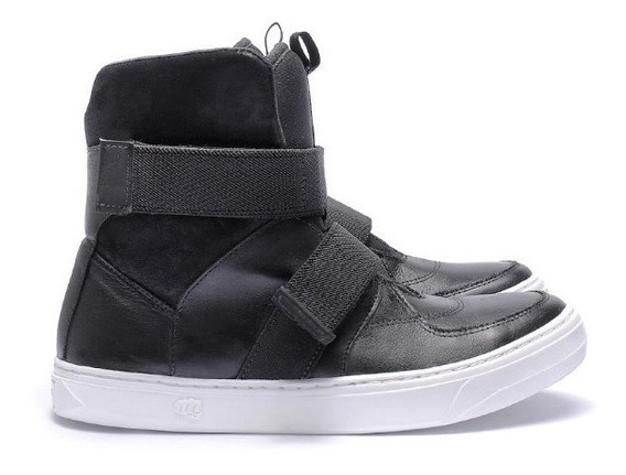 Sneaker Feminino Slim X - Mod 3768 - Strap Black