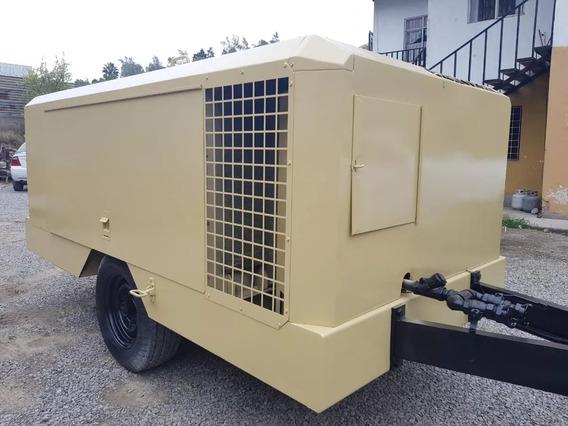Compresor De Aire Ingersoll Rand 375 Cfm Diesel Nacional