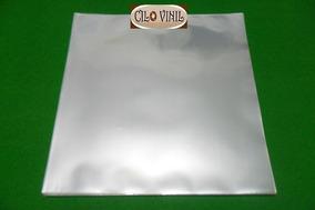 100 Plásticos 0,20 P/ Capas De Lp Disco Vinil - Extra Grosso