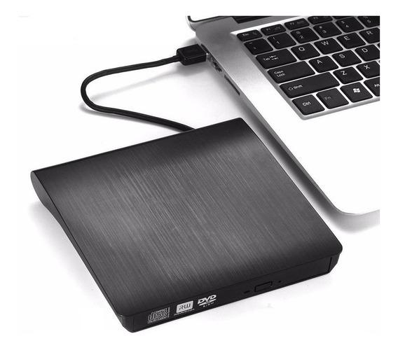 Drive Gravador Dvd Cd Externo Usb 3.0 Portátil Pc Ultrabook