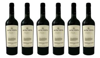 Vino Alta Vista Premium Cabernet Sauvignon 750 Ml Botella X6