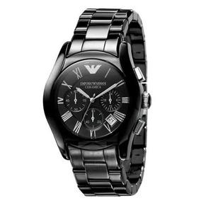 Relógio Empo Rio Armani Ar1400 Cerâmica Black Garantia Func!