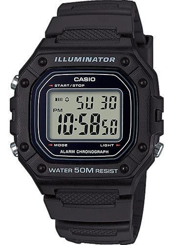 Reloj Casio W-218h-1avcf