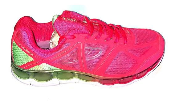 Tênis Olympikus Oxide 984 Zomax Amortecimento Feminino Pink