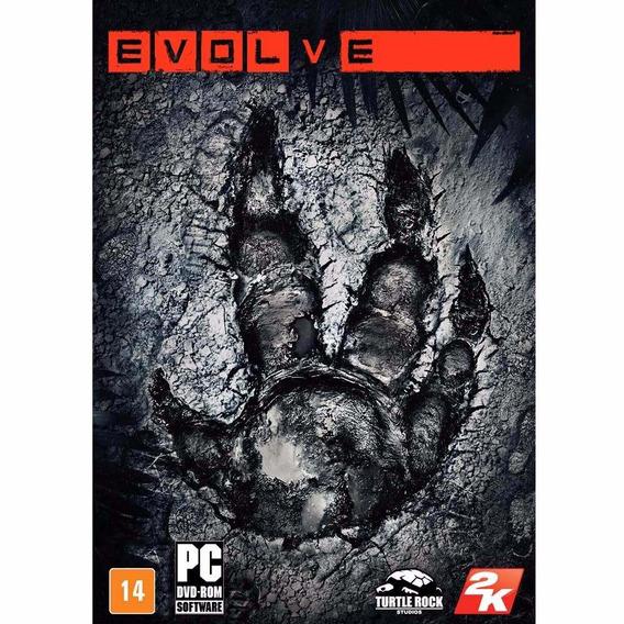 Evolve Mídia Física Pc - Dvd