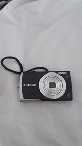 Canon Powershot A2500 Preta + Cartão 8 Gb