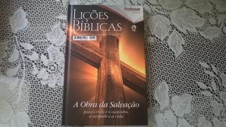 Revista Lições Bíblicas Capa Dura 4º Trimestre 2017