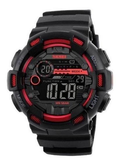Relógio Esportivo Militar Skmei 1234 A Prova Dágua Masculino