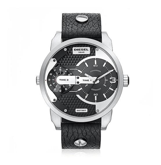 Relógio Diesel Masculino Mini Daddy Dual Time Dz7307