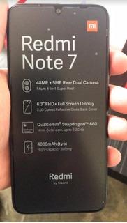 Xiaomi Redmi Note 7 4g Lector De Huella 128gb Somos Tienda
