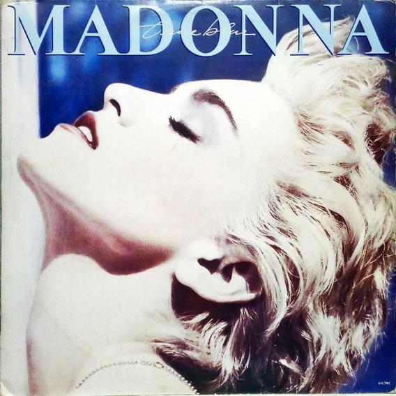 Madonna Lp 1986 True Blue + Encarte + Poster 14509