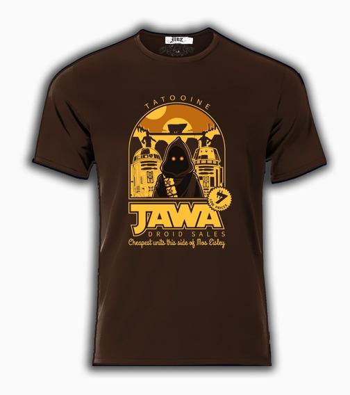Playera Camiseta Star Wars Jawas Venta De Drones Reparacion De Drones Tatooine